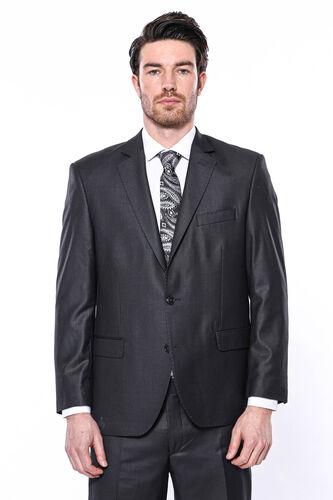 4 Drop Füme Klasik Kesim Takım Elbise | Wessi