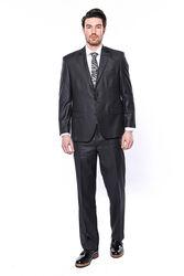 4 Drop Füme Klasik Kesim Takım Elbise | Wessi - Thumbnail