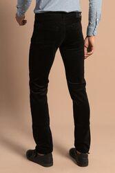 Kaşe Siyah Pantolon - Thumbnail