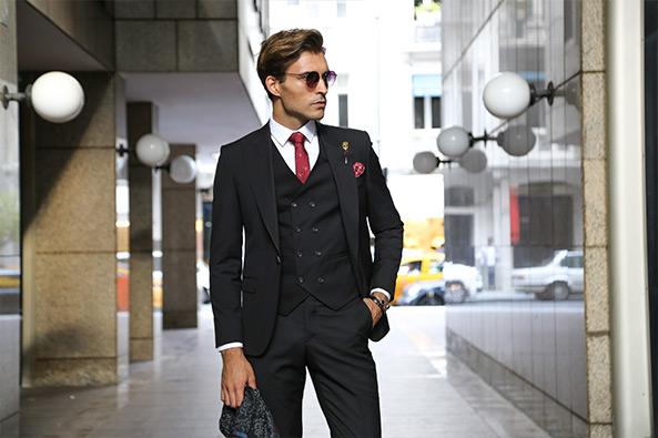 e36381d68f5f3 Slim Fit Takım Elbise Modelleriyle Daha Şık Olma | Wessi