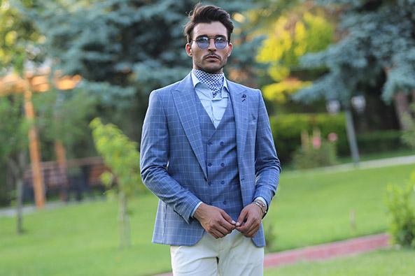 6e150dfb232d5 Erkek Takım Elbise Modasına Uygun Kombinler Wessi.com'da