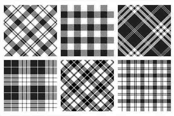 Plaid Pattern Harmony