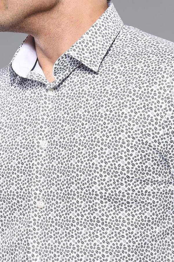Desenli Slim Fit Gömlek | Wessi