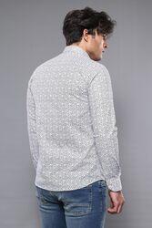 Desenli Slim Fit Gömlek | Wessi - Thumbnail