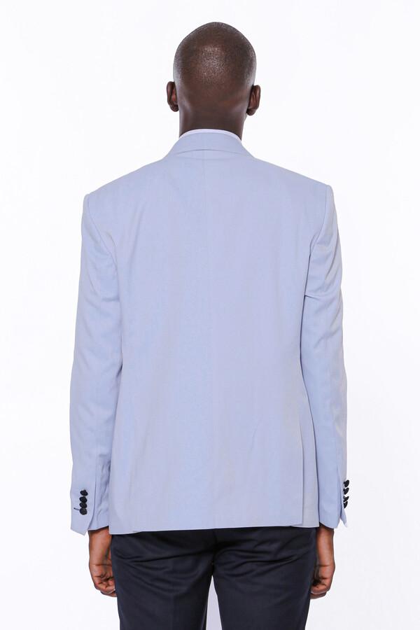 Buz Mavi Damatlık Takım Elbise | Wessi