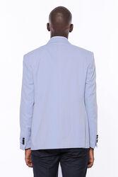 Buz Mavi Damatlık Takım Elbise | Wessi - Thumbnail