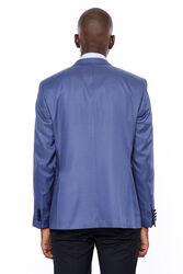 Ceket Desenli Lacivert Erkek Damatlık | Wessi - Thumbnail