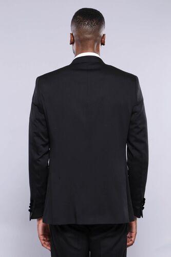 Çıkma Yaka Yelekli Damatlık Takım Elbise | Wessi