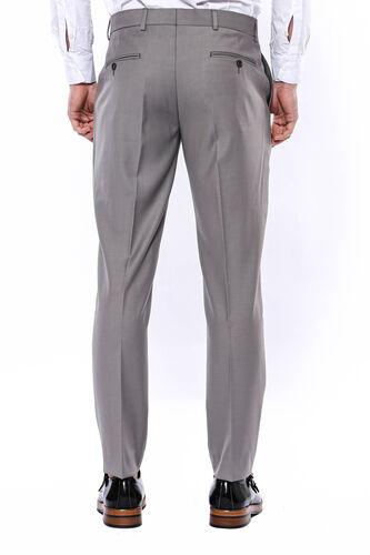 Düz Bej Kumaş Pantolon | Wessi