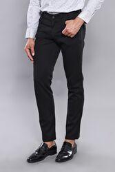 Düz Siyah Beş Cepli Pantolon | Wessi - Thumbnail