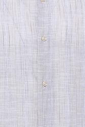 Ekose Bej Desenli Uzun Kollu Gömlek | Wessi - Thumbnail