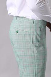 Ekoseli Açık Yeşil Takım Elbise | Wessi - Thumbnail