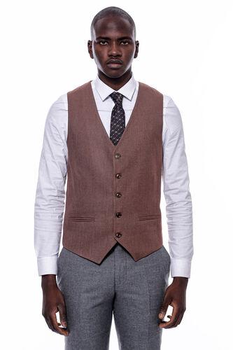 Eksose Gri Ceket Slim Fit Sivri Yaka Takım Elbise