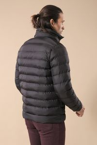Black Short Men Down Jacket | Wessi - Thumbnail