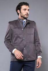 Grey Coat Jacket | Wessi - Thumbnail
