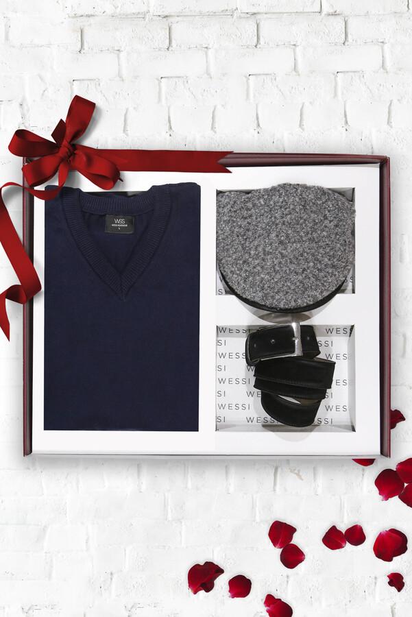Knitwear Belt Hat Set | Wessi