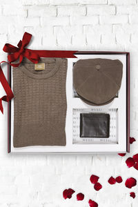 Knitwear Hat Wallet Set | Wessi - Thumbnail