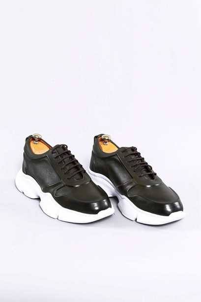 Leather % Suede Men's Ugly Shoes | Wessi