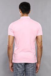 Plain Pink Polo T-Shirt | Wessi - Thumbnail