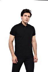 Polo Plain Black T-Shirt | Wessi - Thumbnail