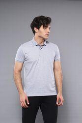 Polo Plain Grey T-Shirt   Wessi - Thumbnail
