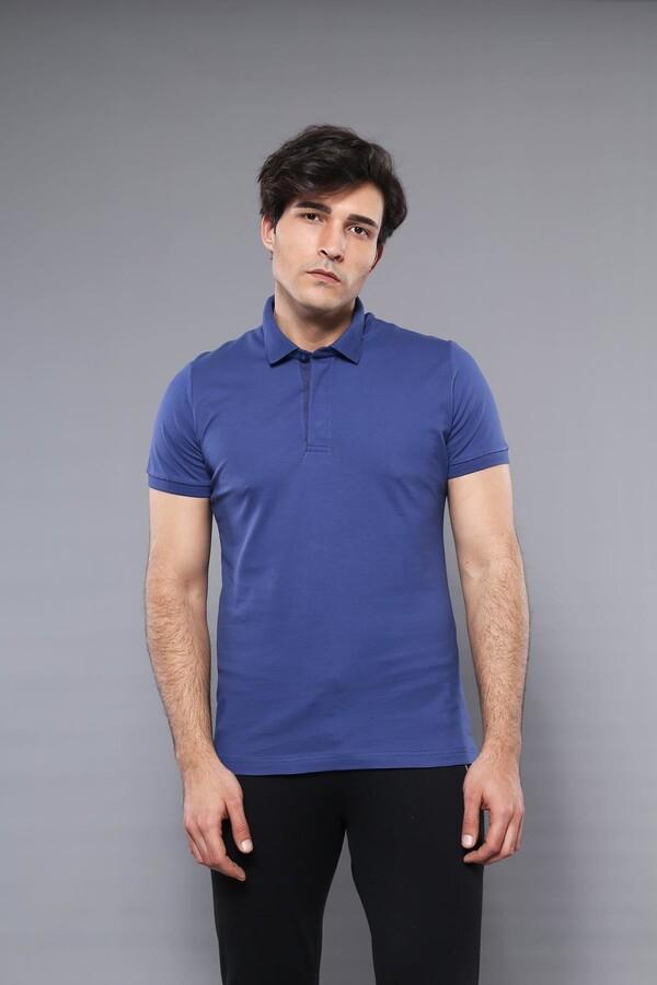 Polo Plain Indigo T-Shirt | Wessi