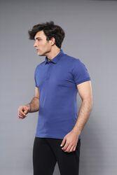 Polo Plain Indigo T-Shirt | Wessi - Thumbnail