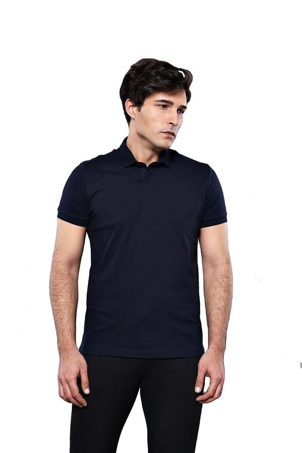 Polo Plain Navy T-Shirt | Wessi