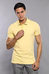 Polo Plain Yellow T-Shirt   Wessi - Thumbnail