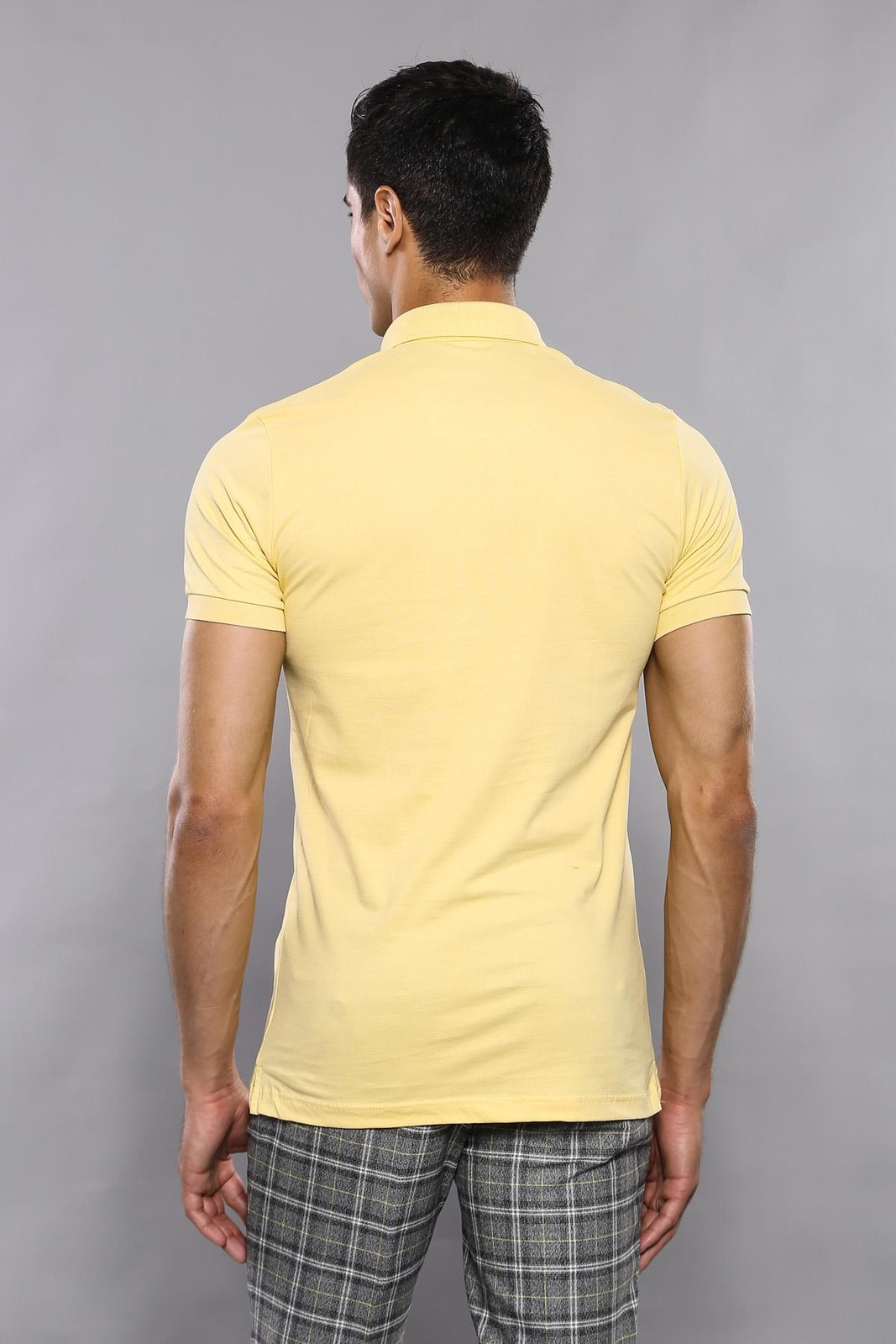 Polo Plain Yellow T-Shirt | Wessi