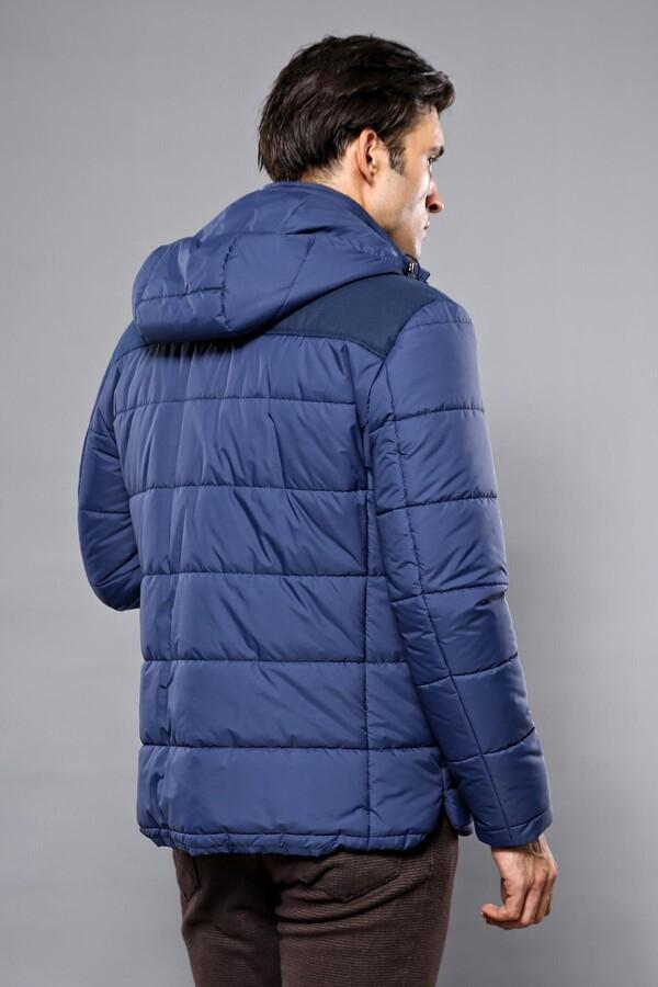 Puffer Navy Blue Coat