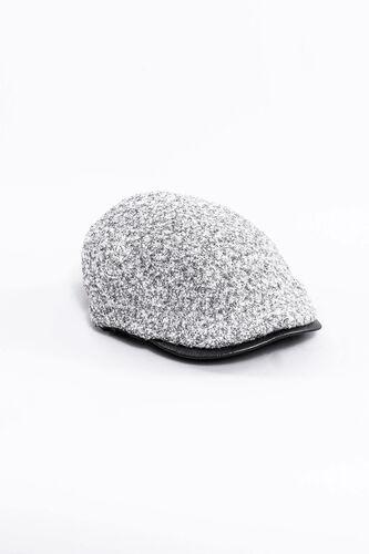 Erkek Gri Kasket Şapka   Wessi