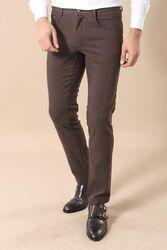 Dar Kesim Kahverengi Pantolon | Wessi - Thumbnail