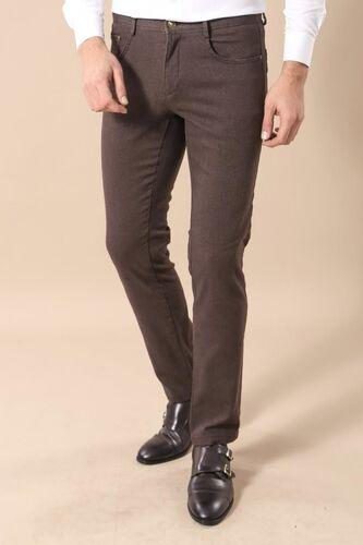 Dar Kesim Kahverengi Pantolon | Wessi
