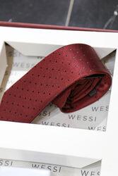 Gömlek Kol Düğmesi Kravat Erkek Hediye Seti | Wessi - Thumbnail