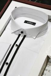 Gömlek Kol Düğmesi Kuşak Erkek Hediye Seti   Wessi - Thumbnail