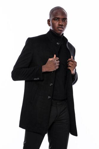 Hakim Yaka Erkek Uzun Kaban   Wessi