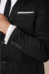 Kol Ağzı Parçalı Ceket | Wessi - Thumbnail