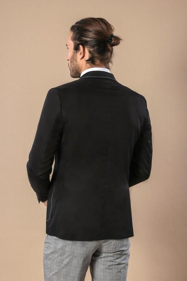 Kol Ağzı Parçalı Ceket | Wessi