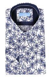 Çiçek Desenli Uzun Kollu Gömlek | Wessi - Thumbnail