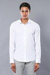 Likralı Beyaz Gömlek | Wessi - Thumbnail