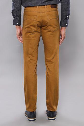 Pamuk Taba Rengi 5 Cep Slim Fit Pantolon | Wessi