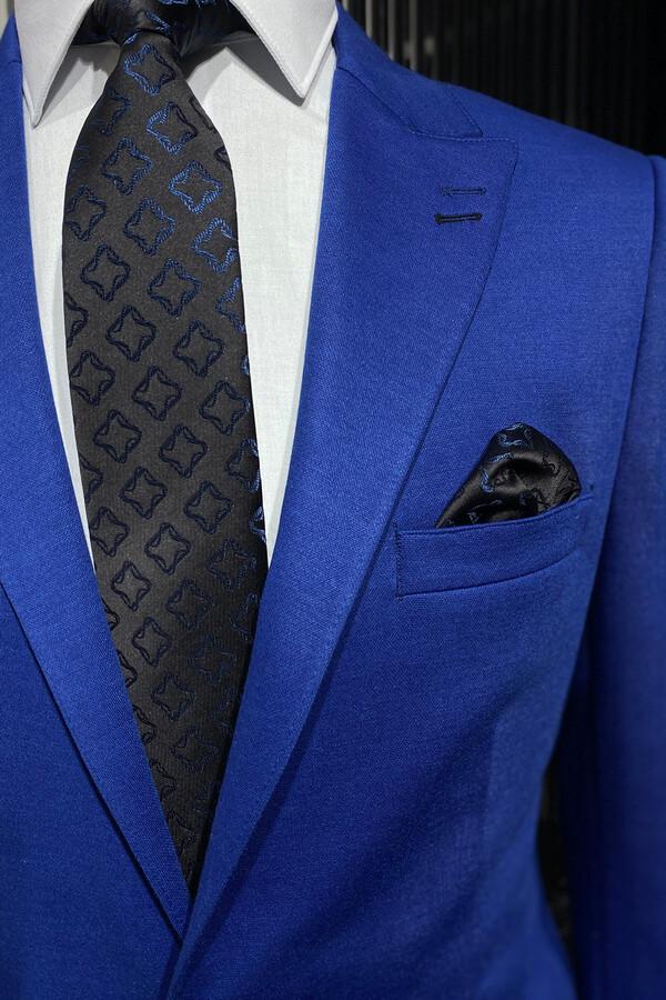 Penye Mavi Ceket