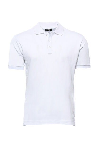 Polo Yaka Oxford Beyaz T-shirt | Wessi