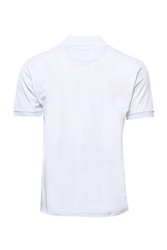 Polo Yaka Oxford Beyaz T-shirt | Wessi - Thumbnail