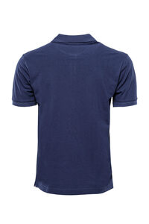 Polo Yaka Oxford Lacivert T-shirt | Wessi - Thumbnail
