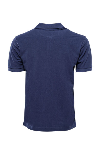 Polo Yaka Oxford Lacivert T-shirt | Wessi