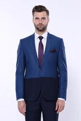Renk Geçişli Lacivert Takım Elbise | Wessi - Thumbnail