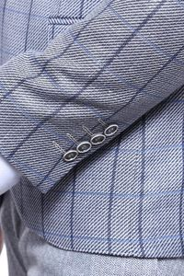 Sivri Yaka Tek Düğme Ceket - Thumbnail