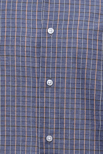 Kare Desen Gri Uzun Kollu Gömlek | Wessi